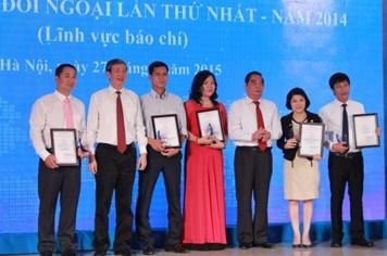 Trao Giải thưởng toàn quốc về thông tin đối ngoại