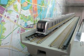 Chuẩn bị mua lô tàu Trung Quốc cho đường sắt trên cao Cát Linh - Hà Đông