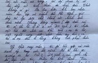 """Bức thư cảm động của một thí sinh Hà Tĩnh gửi các tình nguyện viên tiếp sức mùa thi: """"Cho em biết thế nào là tình người"""""""