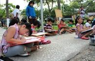 """Gần 500 thiếu nhi tham gia cuộc thi vẽ tranh """"Bảo vệ môi trường biển"""""""