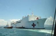 """Khám phá bên trong tàu bệnh viện """"khủng"""" của Mỹ đến Đà Nẵng"""