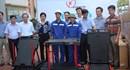 Trao 120 xe đẩy đa năng cho công nhân vùng than Quảng Ninh