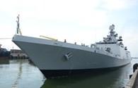Tàu chiến tàng hình hiện đại nhất Ấn Độ thăm hữu nghị Đà Nẵng