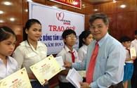 Quảng Nam: Trao 15 suất học bổng cho học sinh nghèo vượt khó, học giỏi