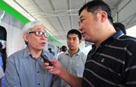 Trưng bày đoàn tàu mẫu tuyến đường sắt Cát Linh - Hà Đông để lấy ý kiến người dân