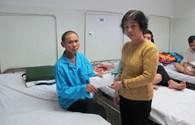 Quỹ Tấm Lòng Vàng trao 10 triệu đồng tới cựu binh Gạc Ma mắc bệnh ung thư hạch