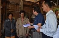 Quỹ Tấm Lòng Vàng Lao Động hỗ trợ cho công nhân thiệt mạng trong vụ tháo dỡ Cầu Đúc Tân An