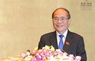 """Chủ tịch Quốc hội Nguyễn Sinh Hùng: Quốc hội là sự kết hợp nhuần nhuyễn """"ý Đảng, lòng Dân"""""""