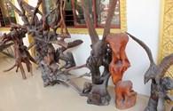 Choáng ngợp trước những tuyệt tác điêu khắc của các sư ở Trà Vinh