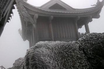 Lạnh – 5 độ, Yên Tử chìm trong băng giá