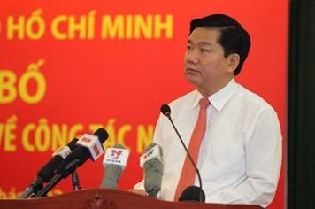 Gọi 0888 247 247 để phản ánh đến Bí thư Thành ủy TPHCM Đinh La Thăng