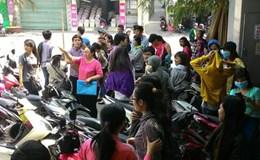 Hàng trăm công nhân Cty CP Mặt Trời bực bội vì lãnh đạo Cty không đến buổi hòa giải