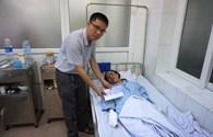 Vết thương 5 công nhân Nghệ An bị bỏng trong vụ nổ tại nhà máy gỗ vẫn đau nhiều