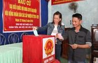Quảng Trị: Cử tri miền biển nô nức đi bỏ phiếu