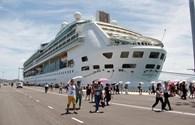 Cảng quốc tế Cam Ranh đón chuyến tàu du lịch đầu tiên cập bến
