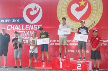 Hơn 300 VĐV quốc tế tham dự cuộc thi Challenge 2016  tại Nha Trang