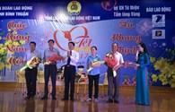 """""""Tết sum vầy"""" ấm áp của hàng trăm công nhân lao động nghèo Bình Thuận"""