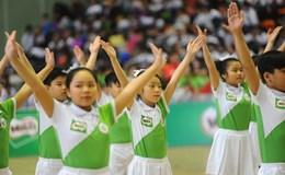 Hội thi đồng diễn thể dục buổi sáng và thể dục giữa giờ tại các trường tiểu học