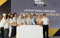 Dương Tử Quỳnh cùng hơn 1.500 sinh viên khởi động dự án SAFE STEPS