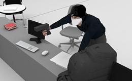 Trà Vinh: Đột nhập ngân hàng, dùng súng uy hiếp cướp 2 tỉ đồng tiền mặt