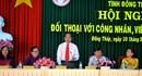 UBND tỉnh Đồng Tháp đối thoại CNVCLĐ giỏi năm 2017