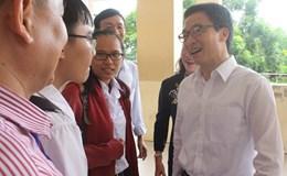 Phó Thủ tướng Vũ Đức Đam thăm, động viên các thí sinh ở Cần Thơ