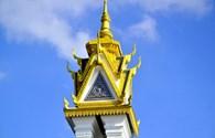 Đài Hữu nghị Việt Nam - Campuchia: Điểm đến kỳ thú trên đất nước Chùa Tháp