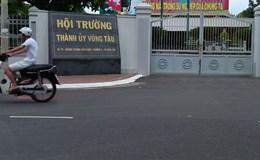 Điều tra vụ quăng bom xăng vào hội trường Thành ủy Vũng Tàu