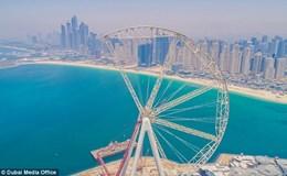 """Đu quay """"khủng"""" nhất thế giới cao bằng tòa nhà 60 tầng sắp ra mắt ở Dubai"""