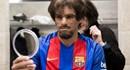 """Xem Rivaldo đóng giả ông lão, """"quẩy"""" tung đội trẻ Barca"""