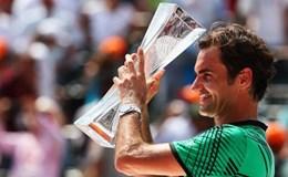 Sau 11 năm, Federer lại vô địch Miami mở rộng