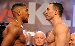 """Tối nay, trận so găng thế kỉ 2.0: Joshua """"chấp"""" Klitschko 0,5kg"""