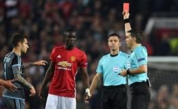 Mourinho nổi đóa vì chiếc thẻ đỏ của Bailly