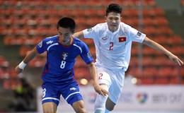 Giải futsal U20 Châu Á 2017: Ngược dòng hạ Đài Bắc, Việt Nam nhiều cơ hội vào tứ kết
