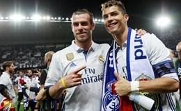 Ngọt ngào giây phút đăng quang của tân vương Real Madrid