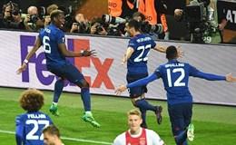 Thắng Ajax 2-0, M.U vô địch Europa League