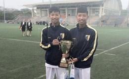 Gian lận tuổi, 2 cầu thủ bị cấm 1 năm, U15 Hà Nội bị loại khỏi giải QG 2017