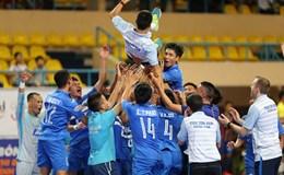 Cầm hòa Sanatech Khánh Hòa, Thái Sơn Nam vô địch sớm 1 vòng đấu