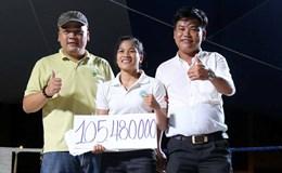 Hơn 100 triệu đồng cho đêm thi đấu và biểu diễn muay Thái vì Thanh Trúc