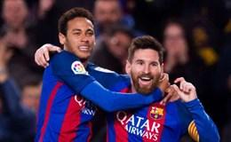 """Chuyển động 24.7: Messi """"đuổi khéo"""" Neymar?"""