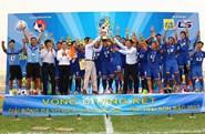 """Hóa giải """"lời nguyền"""", U15 PVF lên ngôi vô địch U15 Quốc gia"""