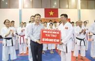 Tuyển karatedo được hỗ trợ 105 triệu đồng động viên tinh thần