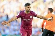 Aguero lập công, Man City thắng nhọc tân binh