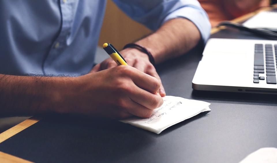 Startup Start-up Business Write Notebooks Plan
