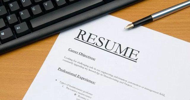 Nên tránh những lỗi cơ bản khi viết CV