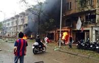 Hà Nội: Nổ kinh hoàng tại KĐT Văn Phú, 4 người chết tại chỗ
