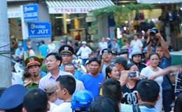 Đắk Lắk: Xử lý 7 đối tượng cản trở lực lượng dẹp vỉa hè