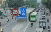 Xử lý nghiêm hành vi cản trở hoạt động xe buýt nhanh