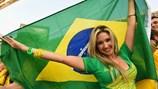 Mê hồn nhan sắc Brazil ngày khai mạc World Cup