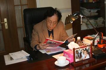 Nguyên PCT nước Nguyễn Thị Bình:  Gần 90 tuổi vẫn làm việc không mệt mỏi